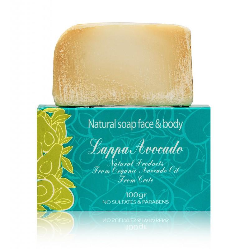 Натуральное мыло с маслом авокадо и оливы